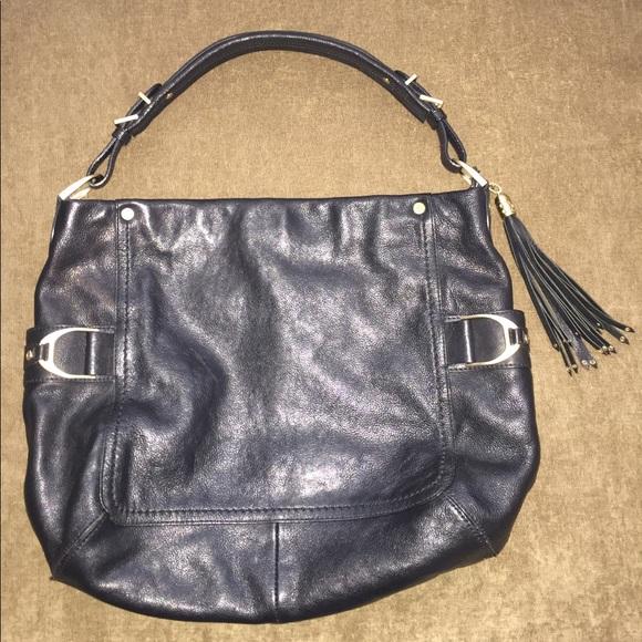 Cole Haan Handbags - Cole Haan Leather Hobo Bucket Shoulder Bag 5746ae9bad039